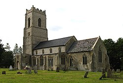 St Andrew, Wood Dalling, Norfolk - geograph.org.uk - 321187.jpg