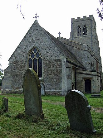 Grade II* listed buildings in Bedfordshire - Image: St Dunstan's Bolnhurst Geograph 3133271 by J Thomas