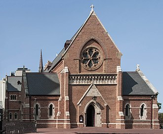 St George's Cathedral, Perth - Image: St George's Cathdral, the west front