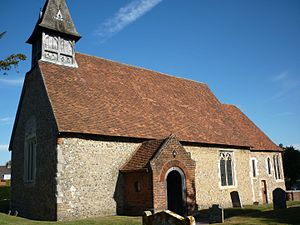 Church of Saint Leonard, Bengeo - Image: St Leonards Bengeo 1