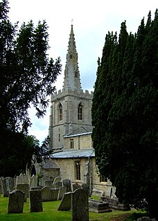South Luffenham village in United Kingdom