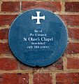 St Olave's plaque, London.jpg