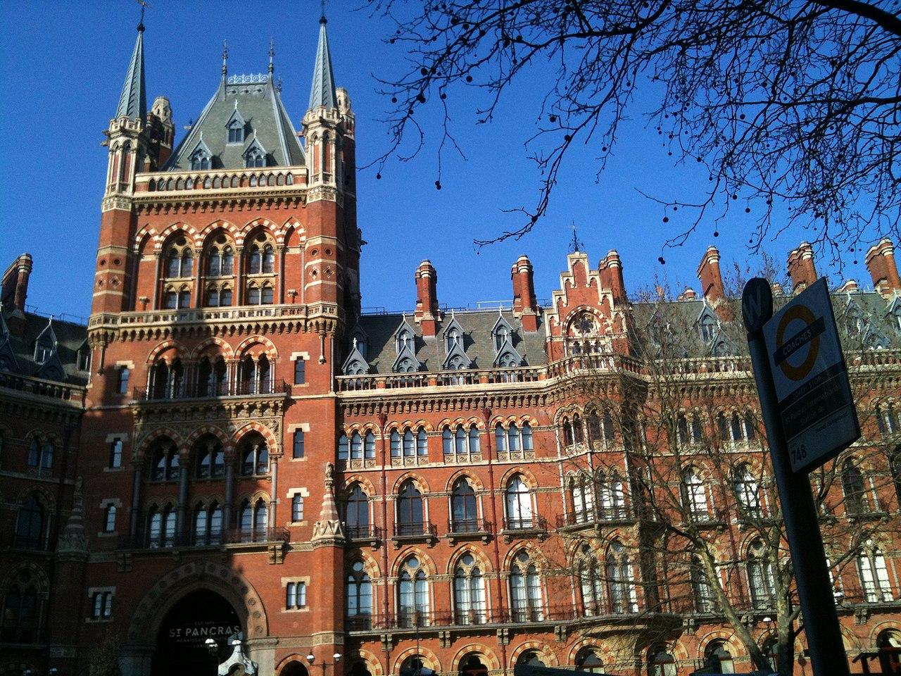 St Pancras Renaissance Hotel London London Vereinigtes Konigreich