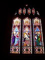 Stained Glass and Leaded Window in St. Martin Of Tours, West Coker - geograph.org.uk - 1170582.jpg