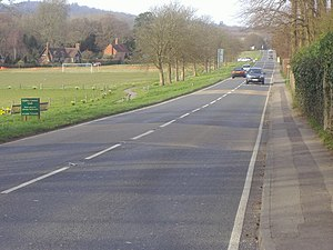 A29 road - Image: Stane Street geograph.org.uk 1206249