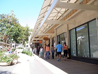 Stanford Shopping Center - Walkway at Stanford Shopping Center