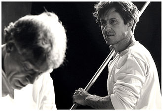 Adaptations of Moby-Dick - Featured: Martin Epstein as Ahab and Michael Berry as Starbuck in Works Productions' Moby Dick.
