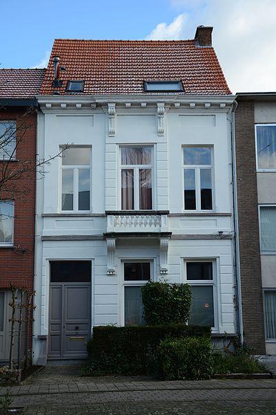 Neoclassicistisch burgerhuis, Statiestraat 30, Lint