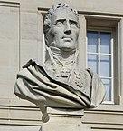 A bust of de Jessaint