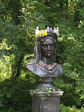 Büste im Schlosspark Charlottenburg (Quelle: Wikimedia)