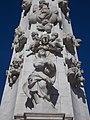 Statue of Virgin Mary, Holy Trinity column, 2016 Budapest.jpg