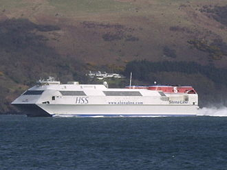 Dumfries and Galloway - Stena Line provided HSS sailings between Stranraer and Belfast