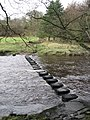 Stepping Stones over the River Irthing - geograph.org.uk - 785606.jpg
