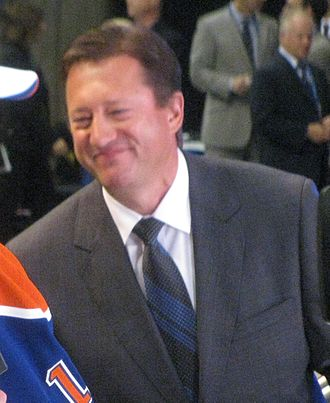 Steve Tambellini - Steve Tambellini at the 2010 NHL Entry Draft