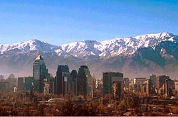 Centro de negocios en Santiago de Chile
