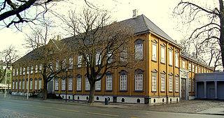 Stiftsgården royal palace in Trondheim, Norway