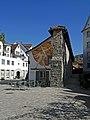 Stiftsmauer (Schiedmauer), Stiftsbezirk St. Gallen, Zeughausstraße (01).jpg