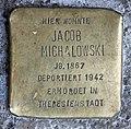 Stolperstein Bundesratufer 4 (Moabi) Jacob Michalowski.jpg