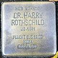 Stolperstein Delmenhorst - Dr. Harry Rothschild (1881).JPG