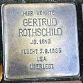 Stolperstein Delmenhorst - Gertrud Rothschild (1910).JPG