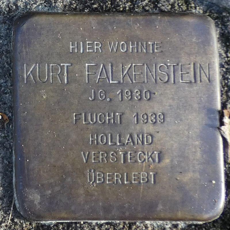 Stolperstein Hagenstraße 17 Stadtlohn Kurt Falkenstein.jpg