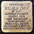 Stolperstein Köln, Wilhelm Zimek (Alte Wallgasse).jpg