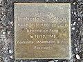 Stolperstein Umberto Chignoli 20 rue Raspail Fontenay Bois 4.jpg