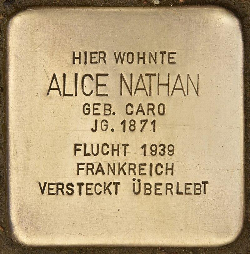 Stolperstein für Alice Nathan (Eutin).jpg