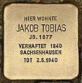 Stolperstein für Jakob Tobias (Cottbus).jpg
