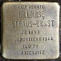 Stolpersteine Köln, Dr. Louise Straus-Ernst (Emmastraße 27).jpg