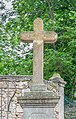 Stone cross at Place de l'Orme in Fozieres.jpg