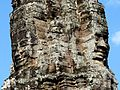 Stone faces in Bayon, Angkor.JPG