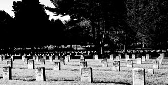 Stones River National Battlefield - Stones River National Cemetery in Murfreesboro, Tennessee.