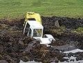 Stop Digging ^ - geograph.org.uk - 195319.jpg