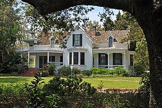 Stow House - Stow House in Goleta Valley, California.