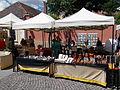 Street Fair, gift stalls. - Szentendre. Dumtsa Jenő Street.JPG