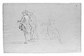 "Study for ""The Siege of Gibraltar""- Three Officers, Two Standing and One Kneeling MET ap60.44.17 recto.jpg"