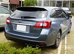 Subaru LEVORG 1.6GT EyeSight (VM4) rear.JPG