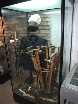 Gezähe - Gezähe (ceremonial version, for miners' parades etc., together with a miner's coat or Bergkittel)