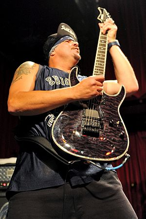 Mike Clark (guitarist) - Mike Clark performing with Suicidal Tendencies in 2011