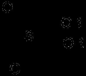 Organosulfate - Structure of a diorganosulfate.