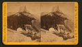 Summit of South Dome. View from Clouds' Rest Mt. Little Yosemite Valley, by E. & H.T. Anthony (Firm).png