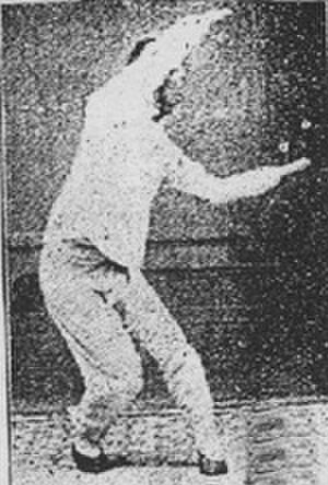 """Baguazhang - Sun Lu-t'ang performing """"Lion Embraces the Ball""""."""