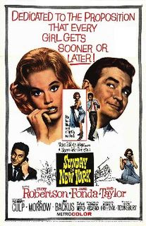 <i>Sunday in New York</i> 1963 American comedy film directed by Peter Tewksbury