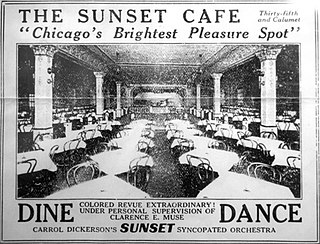Sunset Cafe architectural structure