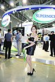 Super Micro Computer promotional models at Computex 20140606a.jpg