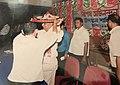 Supriya Kumar Roy being facilitated at an event in Kamrup District.jpg