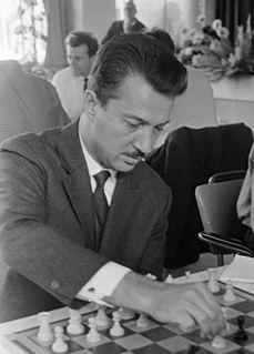 Svetozar Gligorić Serbian and Yugoslavian chess grandmaster