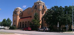 Sweetwater, Texas - Municipal building north of the Nolan County Courthouse.