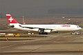 Swiss, HB-JMB, Airbus A340-313 (15834143394).jpg